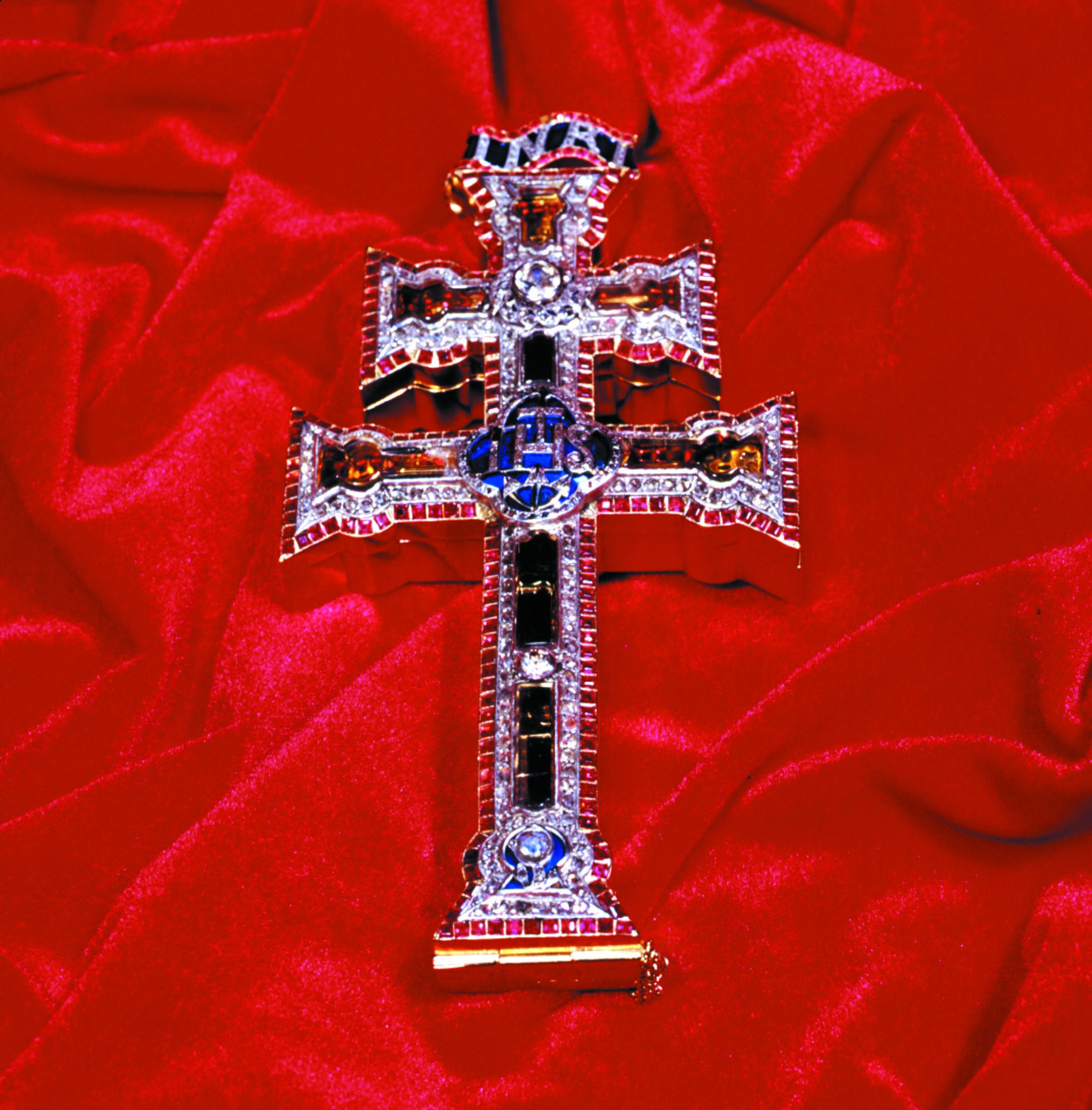 Talismanes angelicos con cruz de caravaca 9110736