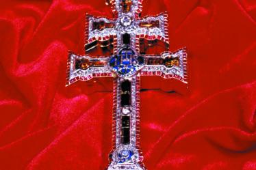 Talismanes angelicos con cruz de caravaca 8140013