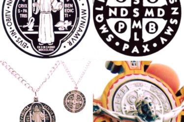 amuletos de proteccion medalla de San Benito 9969078
