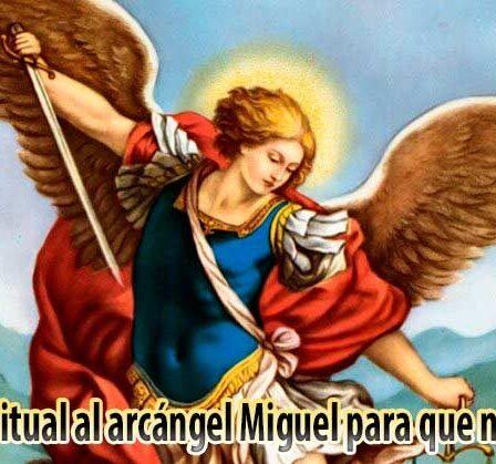 Oracion ritual al arcangel Miguel para que nos ayude 2764502
