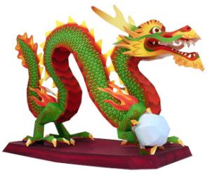 dragones chinos de la suerte 9380495